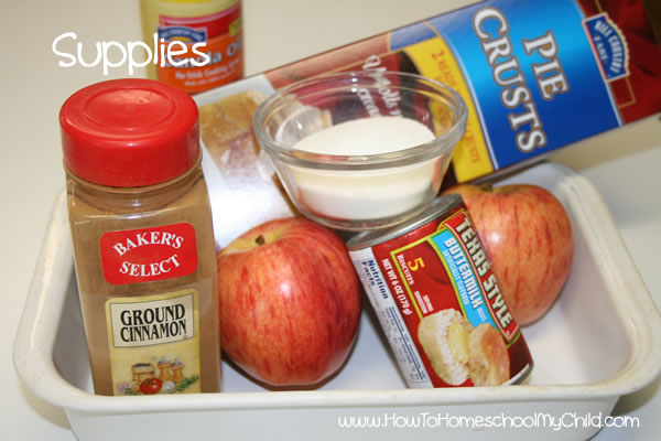 Johnny Appleseed Story & Activities - pie supplies