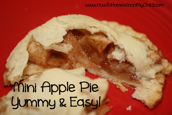 Johnny Appleseed Story & Activties - pie crust open