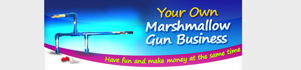 Marshmallow Gun Business - Kid Business
