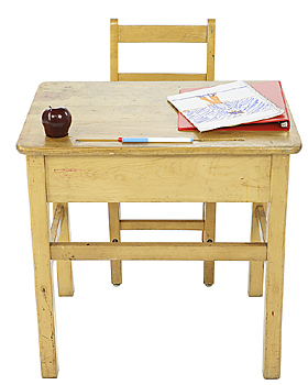 Back to School Desk