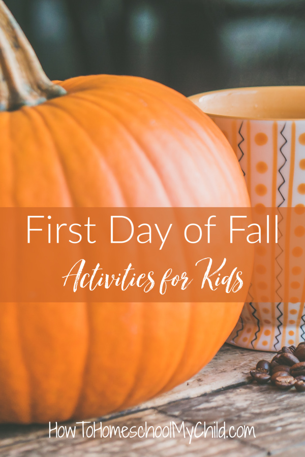 first day of fall activities