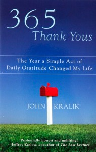 30 Days of Thanks - 365 days of thank yous book