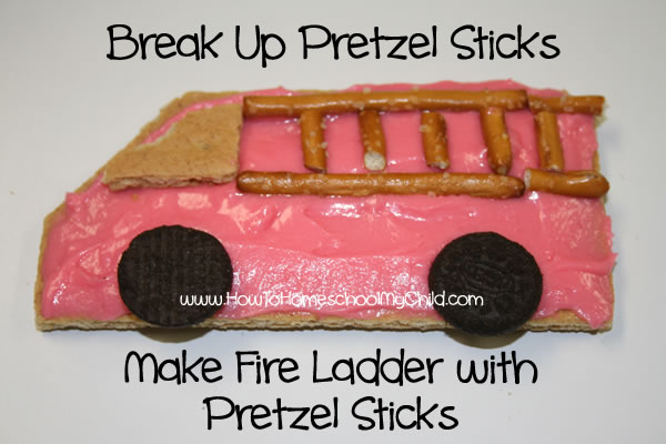 Fire Safety Week & Activities for Kids - pretzels