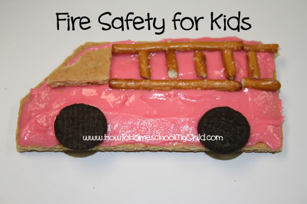 Fire Safety Week & Activities for Kids | HowToHomeschoolMyChild.com