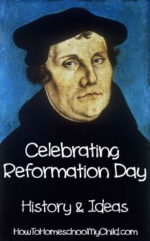 Martin Luther Reformation Day