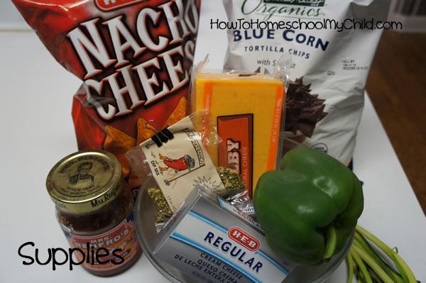 Pumpkin Cheese Ball Recipe - supplies