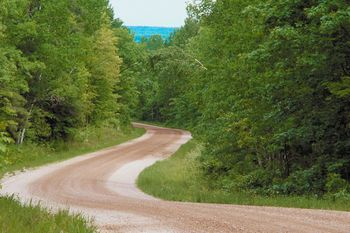 dirt road - single parent homeschooling