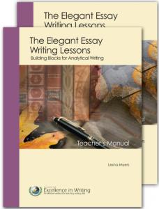 elegant essay - IEW