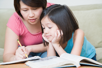 How To Homeschool - mom and child educate