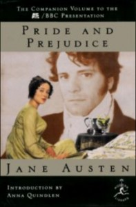Top 10 Highschool Books - pride and prejudice