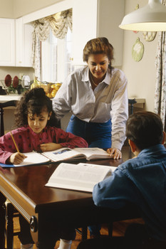 Single Parent Homeschooling - one on one