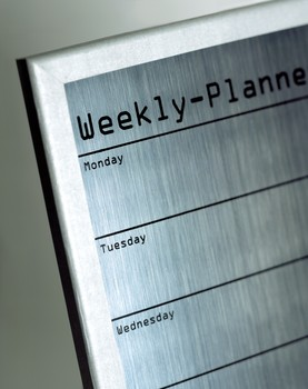 weekly planner - single homeschooling parent