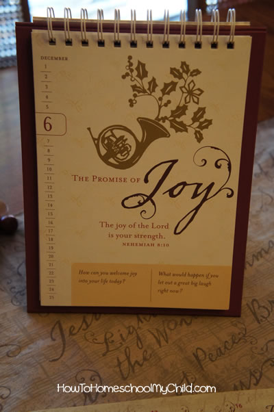 advent devotional - love came down by dayspring