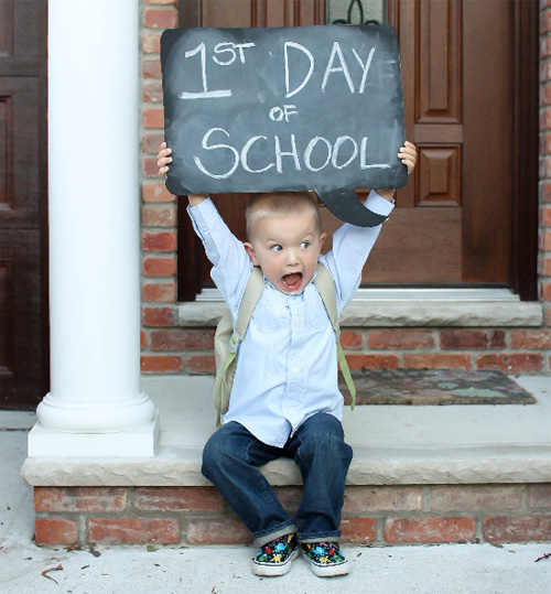 First Day Of School Activities {Blog Candy Contest}