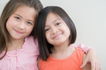kids being thankful