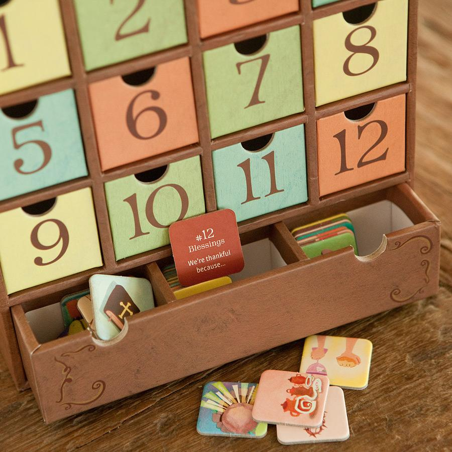 Diy Calendar Homeschool : Advent calendar for thanksgiving days of thanks how