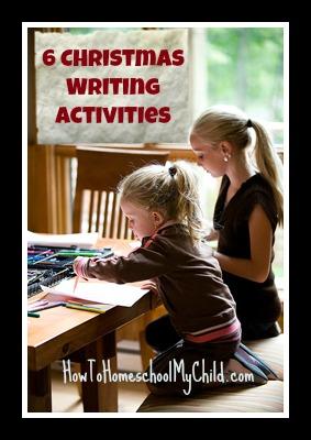 6 Christmas writing activities
