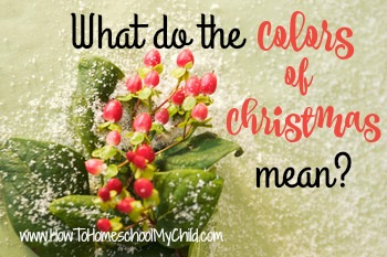 meaning of christmas colors