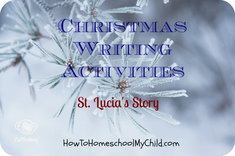 Christmas Around the World St Lucia Christmas Writing Activities