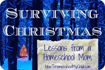 Surviving Christmas - Lessons from a Mom