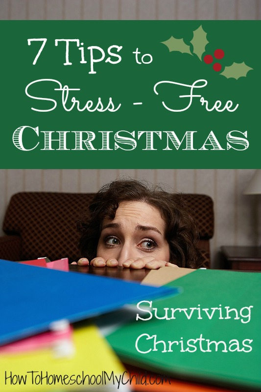 { Surviving Christmas } 7 tips to stress-free Christmas
