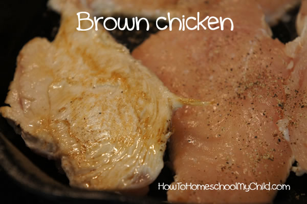 Family Dinner Ideas - Layered Chicken