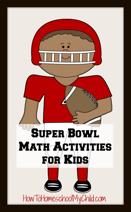 super bow lmath activities for kids ~ from HowToHomeschoolMyChild.com
