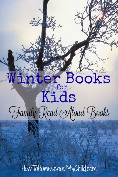 Winter Books for Kids - List from HowToHomeschoolMyChild.com