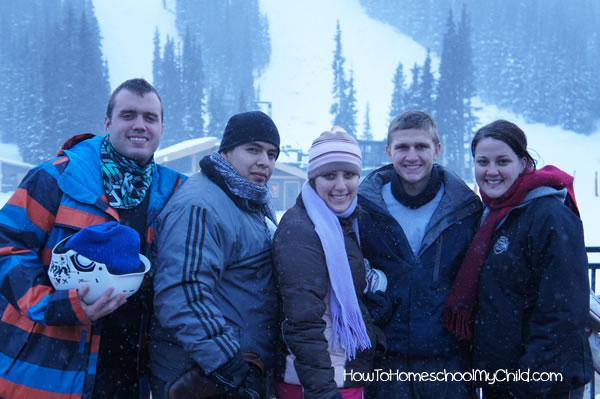 becks winter ski trip 2013