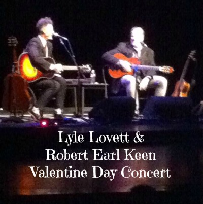 lyle-lovett-robert-earl-keen valentine concert
