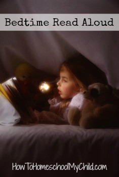 tip #2 - bedtime read aloud on how to start homeschooling...from How to Homeschool My Child.com