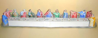 last supper craft - maundy thursday activity