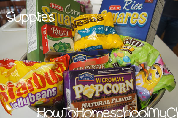easter treats puppy chow from How to Homeschool My Child.com