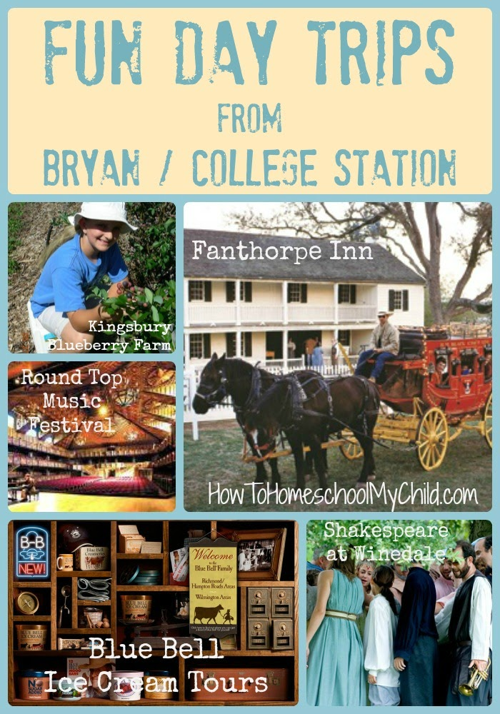 fun things to do in texas - day trips from bryan college station - How to Homeschool My Child.com