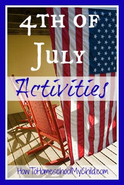 4th of july activities \ HowToHomeschoolMyChild.com