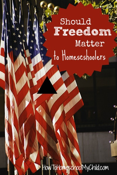 should freedom matter to homeschoolers? click here to find out