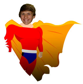 Hunter Beck - homeschool super hero | HomeschoolSuperHeroes.com