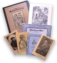 a night of reformation - party scripts & ideas for reformation day | HowToHomeschoolMyChild.com