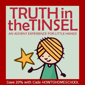 truth in the tinsel - Save 20% with HowToHomeschoolMyChild.com
