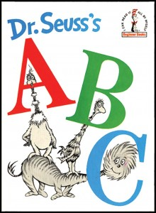 Dr. Seuss's A B C Book - Dr. Seuss activities from HowToHomeschoolMyChild.com