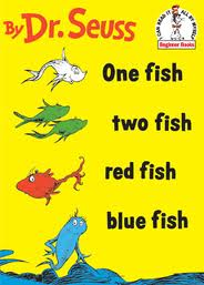 One Fish, Two Fish, Red Fish, Blue Fish - Dr. Seuss activities from HowToHomeschoolMyChild.com