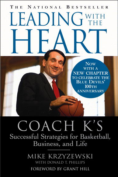 Coach K's excellent book on leadership, basketball & business - highly recommended by HowToHomeschoolMyChild.com