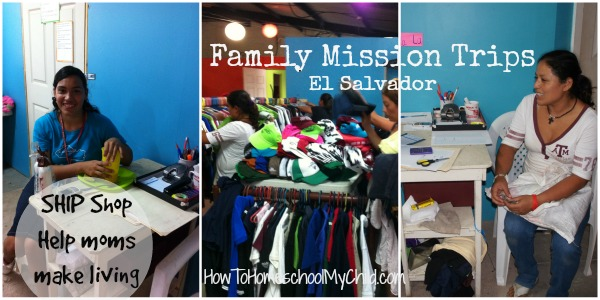 Helping moms make a living  - Family Mission Trips ~ from HowToHomeschoolMyChild.com