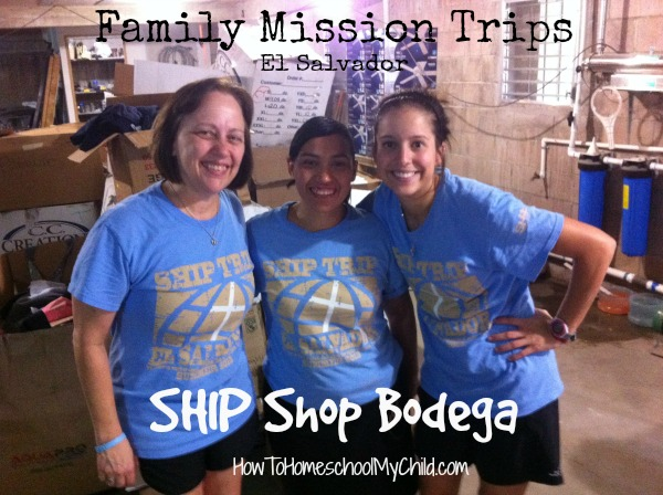 Family Mission Trips - Organizing Bodega to help moms make money from HowToHomeschoolMyChild.com