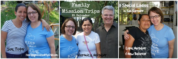 Family Mission Trips & Special Ladies from HowToHomeschoolMyChild.com