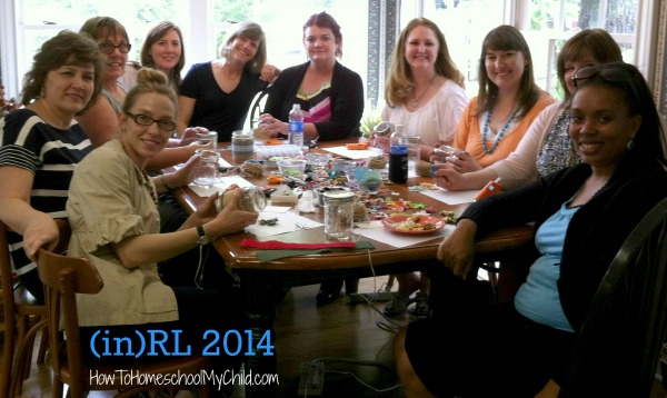 (in)RL 2014 - ladies encouraging each other  ~ from HowToHomeschoolMyChild.com
