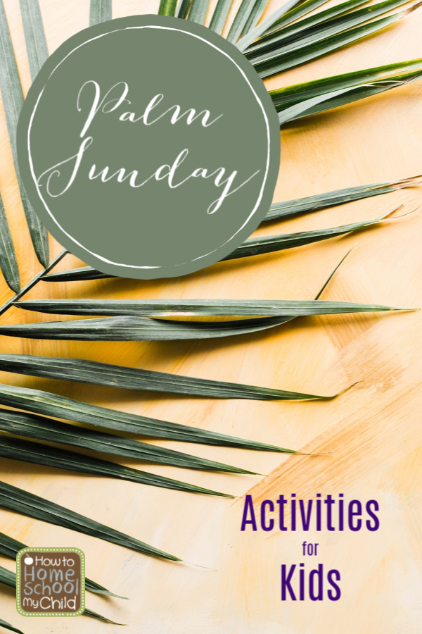Palm Sunday activities for kids
