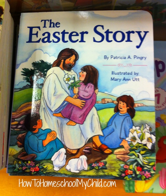 The Easter Story for kids - great board book ~ recommended by HowToHomeschoolMyChild.com