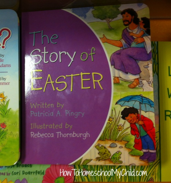 The Story of Easter - board book for kids, recommended by HowToHomeschoolMyChild.com
