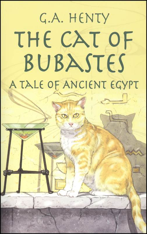 first Henty we read & still one of our family favorites - Cat of Bubastes, by GA Henty, recommended by HowToHomeschoolMyChild.com